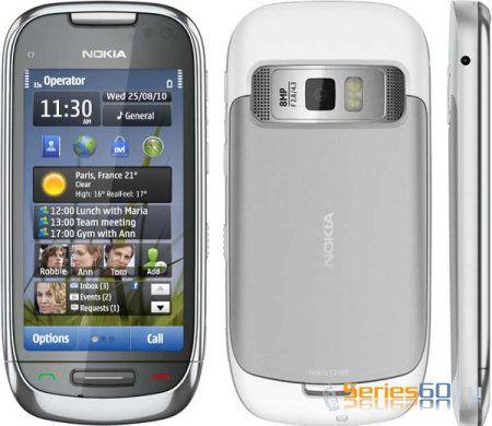 Начались поставки смартфона Nokia C7