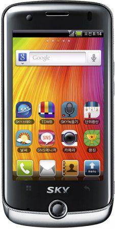 Pantech Mirach (IM-A690S/IM-A690L): Android 2.2 смартфон