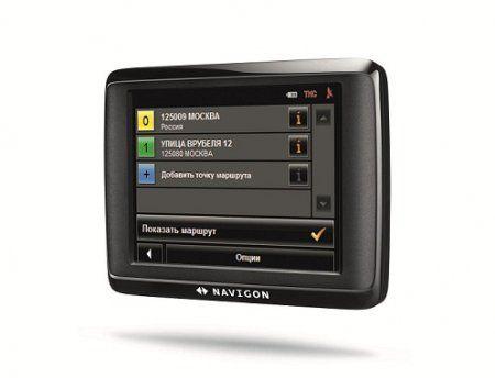 Navigon 1400: симпатичный навигатор с немецкими корнями